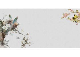 中式传统古典底纹背景banner