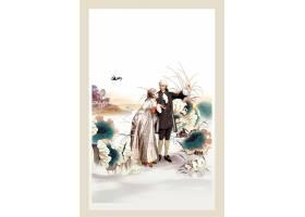 欧式贵族主题创意海报设计