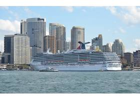 车辆,狂欢节,精神,巡航,船,船,小船,悉尼,城市,澳大利亚,建筑物,图片
