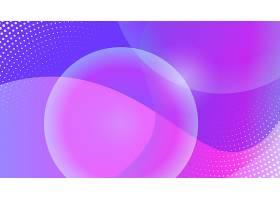 紫色泡泡几何创意背景素材