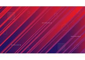 几何红色线条图形创意背景素材