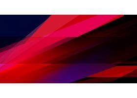 红色几何创意背景模板