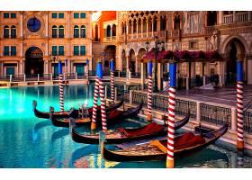 车辆,狭长小船,车辆,威尼斯,建筑物,体系结构,意大利,宏伟的,运河图片