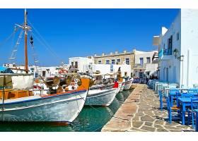 车辆,小船,希腊,风景优美的,玛丽娜,建筑物,码头,水,壁纸,图片