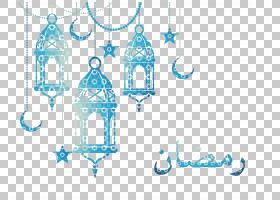 开斋节,Fitr Eid Mubarak Eid al,Adha Islam,伊斯兰图案,蓝色灯