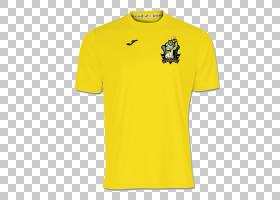 巴西国家足球队球衣衬衫袖子,T,衬衫PNG剪贴画T恤,标志,活跃衬衫,