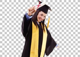毕业典礼广场学术帽学术服装文凭学生,毕业PNG剪贴画人民,研究生