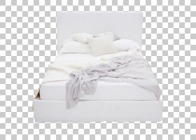 床架卧室床垫家具,漂亮的模型家庭PNG剪贴画名人,白色,美丽矢量,