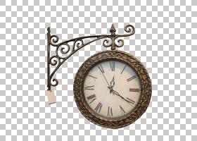 表火车站时钟古董,钟PNG剪贴画复古服装,金属,火车,甜椒,美女,铃
