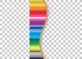 彩色铅笔绘图Prismacolor,铅笔装饰,什锦颜色铅笔很多PNG剪贴画角