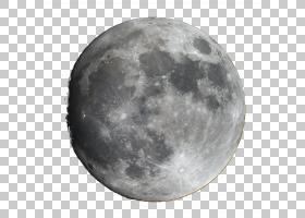 满月,月亮高清PNG剪贴画气氛,单色,球体,天文物体,空间,月亮,天空