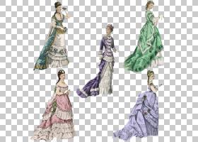 欧洲长袍T,衬衫服装礼服,手工绘制欧洲,风格贵族服饰PNG剪贴画水