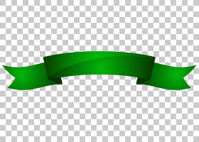 绿丝带颜色,绿色横幅,绿色丝带PNG剪贴画角,丝带,产品,意识功能区