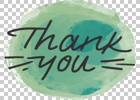 绿色书法涂鸦,绿色涂鸦谢谢你PNG剪贴画水彩绘画,徽标,绿色矢量,