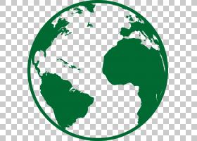 美国世界地图Globe,Green Earth PNG剪贴画环境,世界,环保,绿苹果