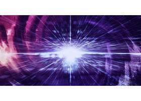 紫色数据化大气星空科技宇宙能量创意背景