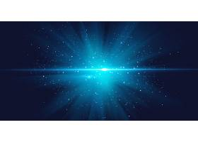 蓝色大气星空科技宇宙能量创意背景