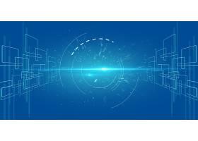 简洁大气星空科技宇宙能量创意背景