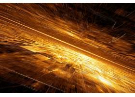 个性金色大气星空科技宇宙能量创意背景