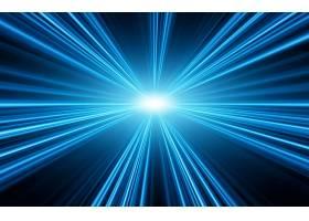蓝色光大气星空科技宇宙能量创意背景