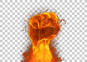 火焰,火焰,火焰拳PNG剪贴画图像文件格式,摄影,橙色,电脑壁纸,燃