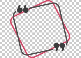 矩形,粉红色矩形,方形红色和黑色框架PNG剪贴画电缆,封装的PostSc