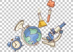 科学海报显微镜,科学设备显微镜地球海报PNG剪贴画杂项,广告海报,