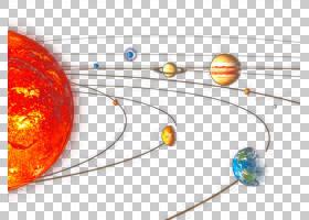 行星太阳系材料天文学,太空宇宙PNG剪贴画地球仪,橙色,电脑,电脑