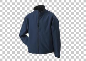 夹克连帽衫毛衣Softshell T,衬衫,夹克PNG剪贴画拉链,蓝色,活动衬
