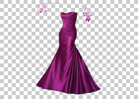 婚纱礼服舞会舞会,紫色礼服PNG剪贴画紫色,紫罗兰色,派对礼服,洋