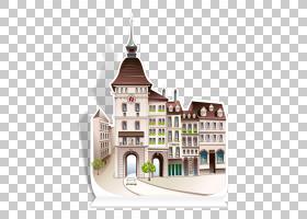 建筑别墅,华丽城堡PNG剪贴画建筑,游泳池,世界,绘画,城堡,迪士尼