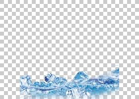 冰块淡水,冰PNG剪贴画蓝色,电脑壁纸,颜色,冰淇淋,结冰,冰镇,冰咖