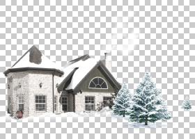 冰屋雪冬,白色冰屋PNG剪贴画建筑,黑色白色,白色房子,属性,海拔,