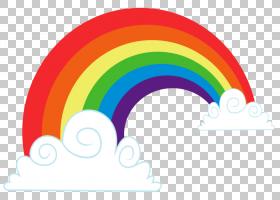 彩虹云,独角兽PNG剪贴画文本,电脑壁纸,颜色,贴纸,可爱马克十字军