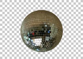 迪斯科球20世纪70年代光夜总会镜子,光PNG剪贴画灯具,球体,派对,