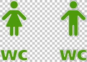 抽水马桶公共厕所,厕所标志PNG剪贴画家具,文本,浴室,标志,草,厕