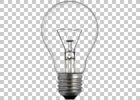白炽灯泡LED灯发光二极管照明,一个灯泡,转动,在爱迪生灯泡PNG剪