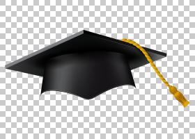 方形学术帽毕业典礼,毕业帽PNG剪贴画帽子,桌面壁纸,黑色,学士学