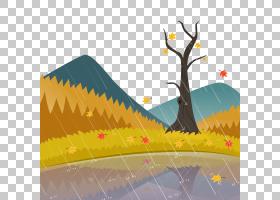 Rain Euclidean,秋雨PNG剪贴画云,景观,计算机壁纸,生日快乐矢量