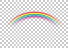 Rainbow Cloud彩虹色,彩虹PNG剪贴画文本,云,三角形,计算机壁纸,