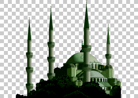 埃斯林根清真寺阿拉伯工商会(香港)Eid al-Adha广告,城堡PNG剪