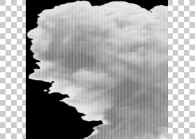 Smoke Explosion Encapsulated PostScript,烟雾PNG剪贴画云,单色