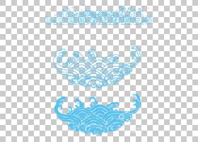 中国中国艺术剪纸中国新年模式,中国PNG剪贴画蓝色,文本,云,云计