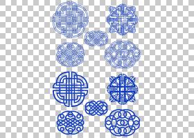 中国新年,中国风模式PNG剪贴画png材料,古代,中国风,几何图案,对