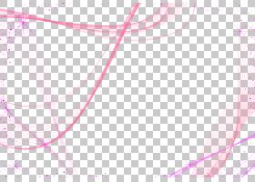 图形设计样式,紫色抽象背景软的线装饰材料,蓝色和桃红色背景PNG