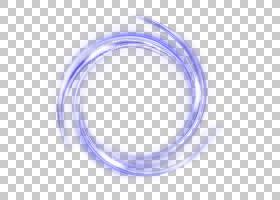 轻型框架,紫色圆圈光效,紫色圆形PNG剪贴画框架,蓝色,图像文件格