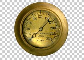 晴雨表测量仪大气压力,复古装饰晴雨表PNG剪贴画装饰,装饰,圣诞装