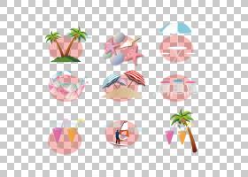 暑假,创意暑假PNG剪贴画伞,夏季,眼镜,党,设计,创意标志设计,创作