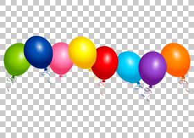 气球生日,装饰气球,各种颜色派对气球PNG剪贴画颜色,产品,派对,iS