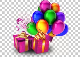 气球生日飞鼠松鼠维多利亚党,礼品装饰PNG剪贴画杂项,生日快乐,装